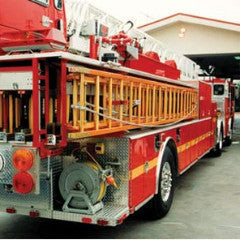 SFFD Wooden Fire Ladders