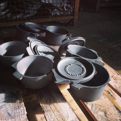Cast Iron Dutch Oven by Outlaw Schmitz