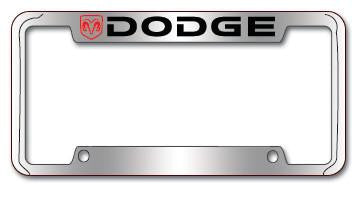 License Plate Frames & License Plates - Dodge Products