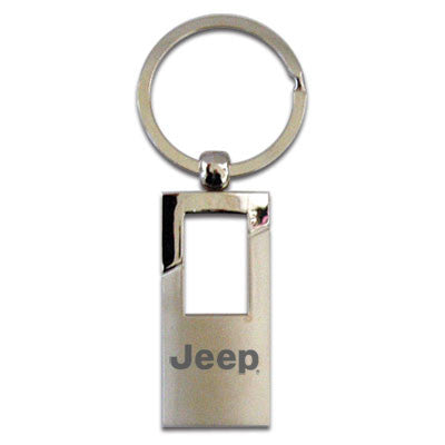 1435660 Jeep Rectangle Key Chain