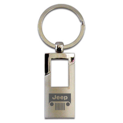 1435661 Jeep Grill Rectangle Key Chain