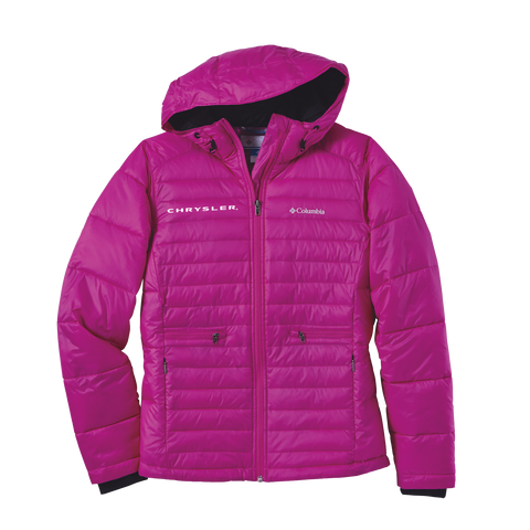 CH156776 - Columbia Women's RAM Powder Pill Quilted Full-Zip Jacket in Groove Pink