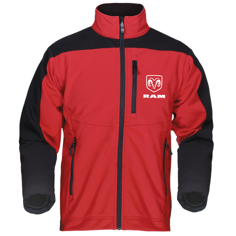RM4200RBK - Men's RAM Waterproof/Breathable Full-Zip Softshell