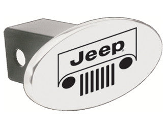 8035661 Jeep Grill Oval Hitch Cover