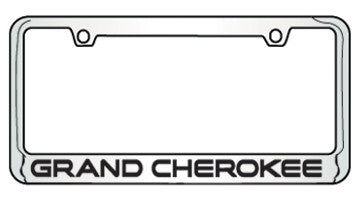 9035655 Jeep Grand Cherokee Bottom Engraved License Plate Frame