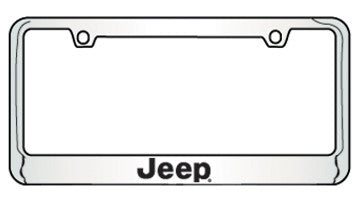 9035660 Jeep Bottom Engraved License Plate Frame
