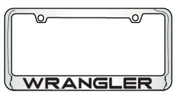 9035670 Jeep Wrangler Bottom Engraved License Plate Frame