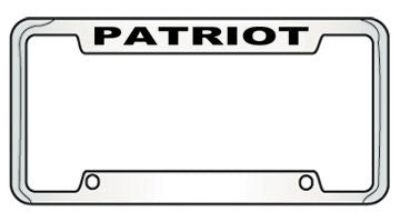 9135667 Jeep Patriot Top Engraved License Plate Frame