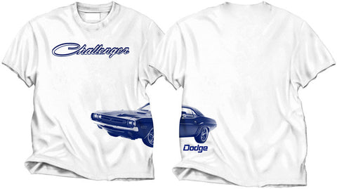 Dodge Challenger Wrap Tee in White