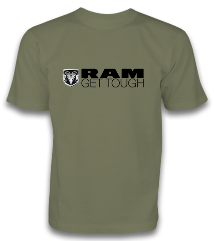 RAM GET TOUGH TEE - Military - RMTee1007