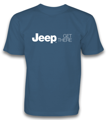 Get There Tee - Blue JPTee1007