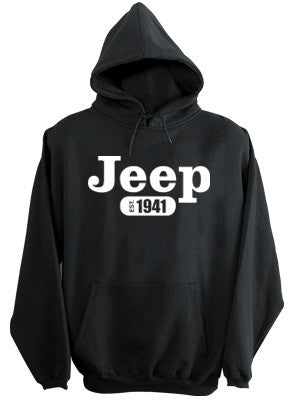 Sweatshirt - Jeep Hoody in Black