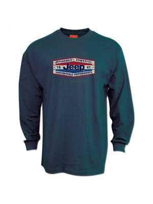 Jeep Dependable Powerful Long Sleeve T-Shirt