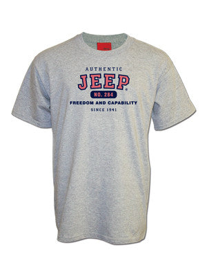 Jeep Authentic Gray Tee