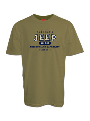 Jeep Authentic Olive Tee