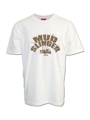 Jeep Mud Slinger White T-Shirt