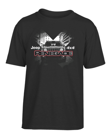 Custom Renegade Grill T-shirt in Black