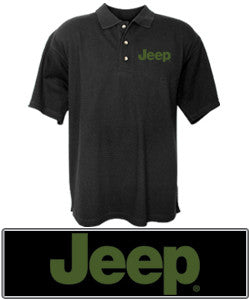 Jeep Logo Polo Shirt - Black