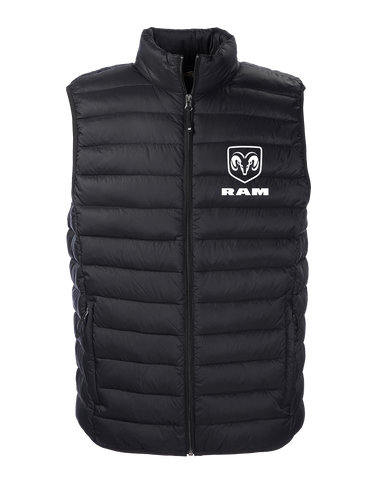 RAM Weatherproof Packable Puffer Vest