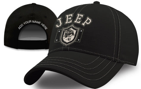 Jeep Shield Hat - Black