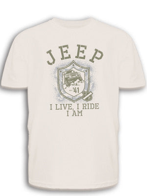 Jeep Shield Tee in White