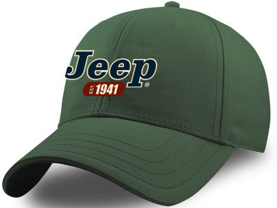 JEEP 1941 Script Hat in Green
