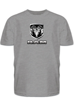 Chrome RAM Tee in Gray