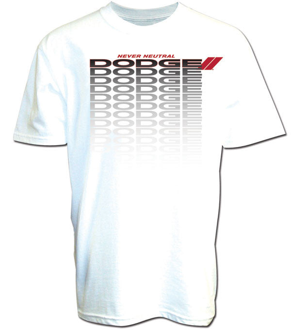 Dodge Repeater Tee in White