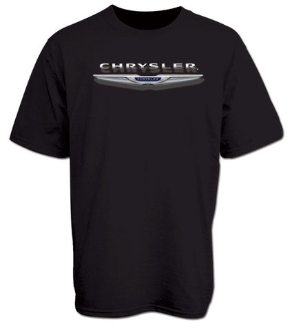 New Chrysler Logo Tee in Black