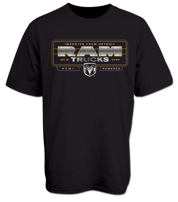 RAM Steel Truck Tee in Black