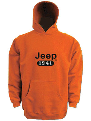 Sweatshirt - Jeep 1941 Orange Hoody