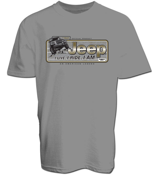 Jeep Lifestyle Tee in Gray