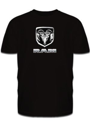 Chrome RAM Tee in Black