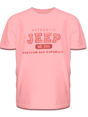 Jeep Authentic Pink Tee