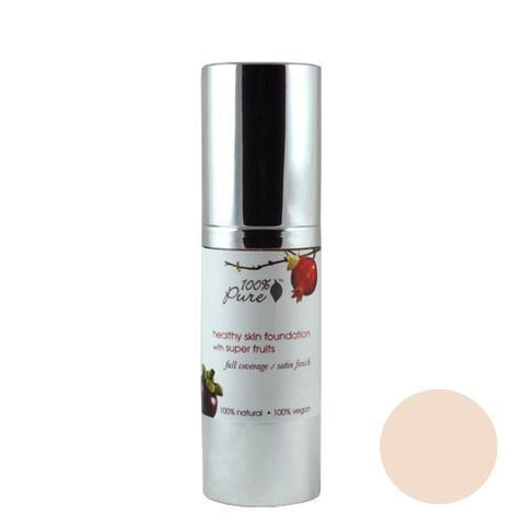 100% Pure Fruit Pigmented Healthy Skin Foundation - Creme