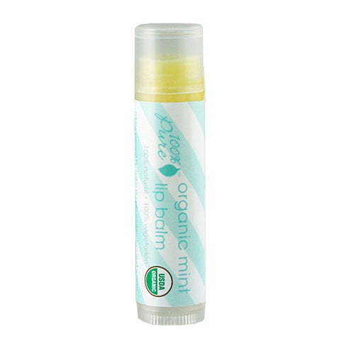 100% Pure Organic Mint Lip Balm