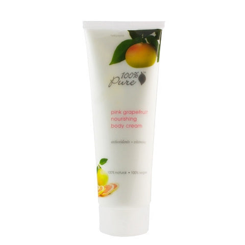 100% Pure Organic Pink Grapefruit Body Cream