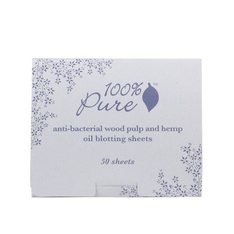 100% Pure Anti Bacterial Wood Pulp Oil Blotting Papers