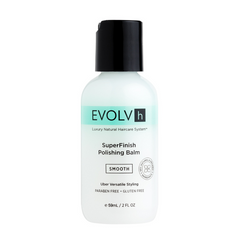 EVOLVh SuperFinish Polishing Balm Travel Size Defrizz & Smooth