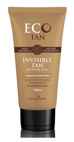 EcoTan Organic Invisible Tan Self Tanning Lotion
