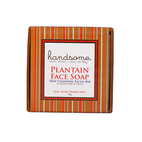 Pretty Organics Handsome Plantain Acne Bar Soap