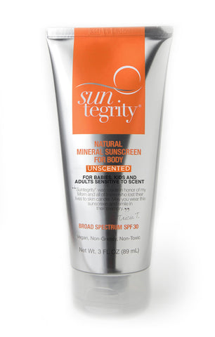 Suntegrity Body Sunscreen UNSCENTED - SPF 30