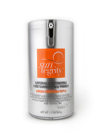 Suntegrity Natural Moisturizing Face Sunscreen & Primer, Broad Spectrum Spf 30