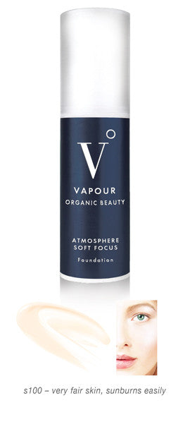 Vapour Organic Beauty Atmosphere Soft Focus Foundation s100