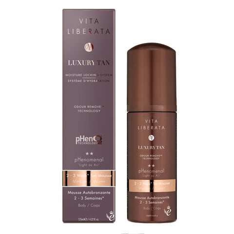 Vita Liberata pHenomenal 2-3 Week Tan Mousse (2 Shades)