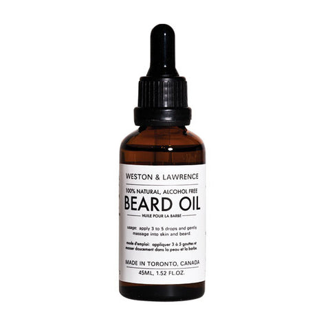 Weston & Lawrence Beard Oil