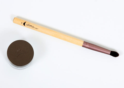 alima PURE Pointed Crease Brush #36