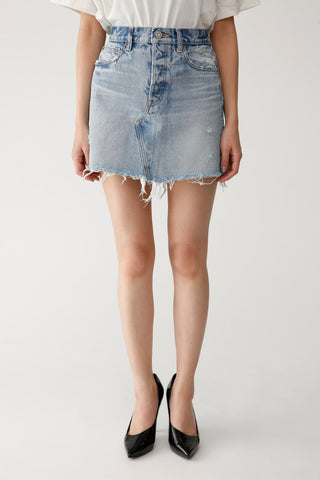 Agolde PARKER VINTAGE CUT OFF SHORT IN LOWKEY