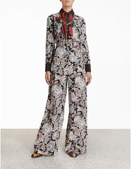 Zimmermann LADYBEETLE PIPED BLOUSE