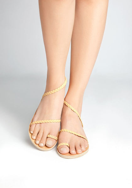 Ancient Greek Sandals Eleftheria- Nude
